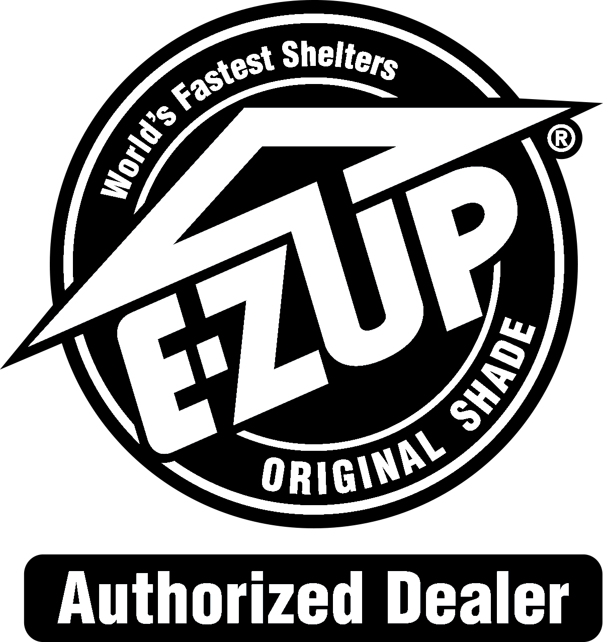 E-ZUP Authorized Dealer Logo Black